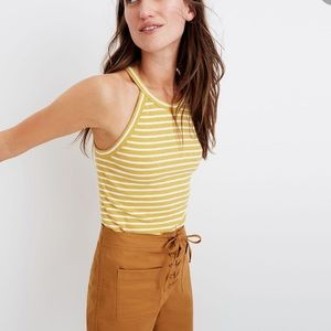 Madewell Time Off Halter Tank Top